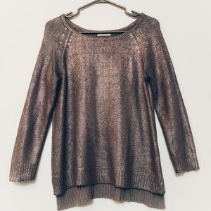 Tops - Metallic Knit Top🎈3 for $36🎈